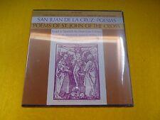 San Juan de la cruz Poesias Jose Crespo poet´s theatre No10 (SEALED) Spain lp  ç