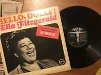 Ella Fitzgerald: Hello Dolly LP on VERVE Label V-4064 from 1964 Mono VINYL VG+