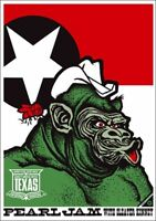Pearl Jam Texas 2003 Jumbo XL Edition Ames Bros Poster Print George Bush Cheney