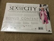 Sex and the City - Complete Series (DVD, 2010, DELUXE Edition; White) SEALED!
