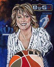 Nancy Lieberman autographed limited edition fine art print Big 3