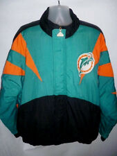 Vintage MIAMI DOLPHINS Football NFL Authentic APEX Starter Jacket 1990s Mens L