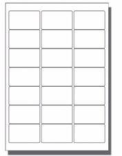 100 x 21 per sheet Blank A4 self adhesive product address postal White labels