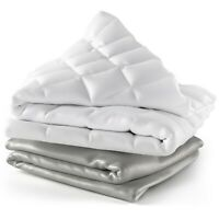 Cosy House 15 Lb Weighted Blanket & 100% Bamboo Removable Cover - Two Sizes