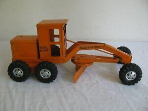 Vintage 1955 Tonka Toys Orange Diesel 600 Road Grader EX