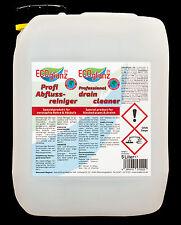 5 Liter ECOglanz24 Profi Abflussreiniger-Konzentrat,Hochwirksames Spitzenprodukt