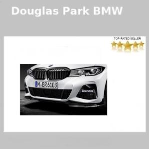 BMW Genuine G20 3 Series M Performance Front Splitter Gloss Black  51192455832