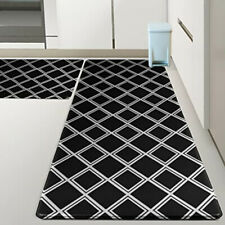 2-pack Waterproof & Non-Slipping Kitchen Mats for Floor, Durable Kitchen Rugs