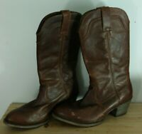 Womens Ariat 10015341 Bluebell Vintage Caramel leather cowboy Boots 10B ATS