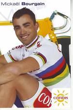 CYCLISME carte  cycliste MICHAEL BOURGAIN  équipe COFIDIS 2005