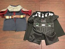 Build A Bear Star Wars Lot Jedi Knight Darth Vader Outfit Clothes BABW
