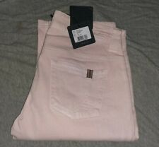 "$250 Nwt Notify Denim Italy Hellabora Pink Skinny Leg Jeans Pink Stretch 26 28"""