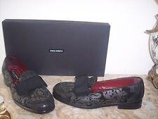 New DOLCE&GABBANA RUNWAY Tuxedo Shoes size 8.5 US