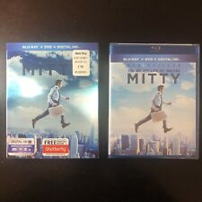 *SEALED w/ Slipcover!* The Secret Life of Walter Mitty (Blu-ray/DVD, 2013)