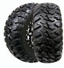 (2) New GBC 27x9x14 27x9R14 10-Ply Kanati Mongrel DOT Legal Radial UTV SXS Tires