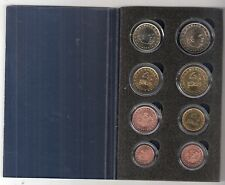 MONACO SERIE EURO'S 8 PCS 2001/2 - 1 CT/20 CT 2001 - 50 CT/€ 2,-- 2002