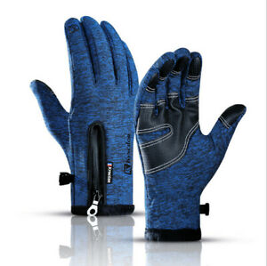 Winter Gloves Touch screen Gloves Cycling Gloves Thicken Warm Gloves for Running
