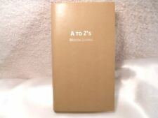 Daisy Arts Leather A to Z's Wedding Journal for the Bride 26 Entries