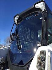 "NEW BOBCAT  S650  1/2"" EXTREME LEXAN DOOR Plus Sides.Skid steer loader glass cab"
