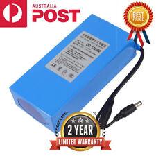 Portable DC 12V 20000mAh Li-ion Super Rechargeable Battery Pack w/ US Plug AU