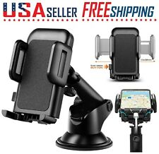 Cell Phone Car Windshield Dashboard Mount Holder Stand 360 Rotation Universal