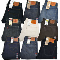 Levis 505 Jeans Straight Leg Zipper Fly Original Mens Denim 30 32 33 34 36 38 40