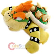 "Super Mario Bros Bowser Plush Doll  King Koopa Soft Stuffed Toy Figure-9"" Large"