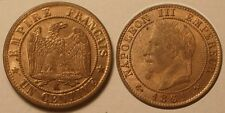1 Centime Napoléon III, 1861 K Bordeaux, UNC !!