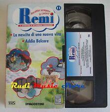film VHS cartone REMI  NR. 11  - 2  EPISODI - DE AGOSTINI 2004 (F9)  no dvd