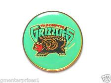 Vintage Vancouver Grizzlies NBA Logo Pin