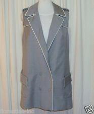 "BEAUTIFUL CAMILLA AND MARC GREY WOOL VEST DRESS AUS 12 US 8 ""CHRISTELLE"""
