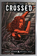CROSSED: BADLANDS #24 RAULO CACERES RED CROSSED VARIANT COVER - 2013