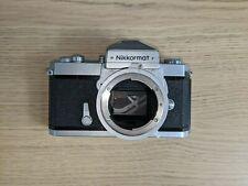Nikon Nikkormat Ftn 35mm Slr Film Camera Body Only (Silver)