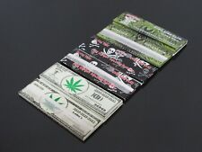6 pcs 192 Leaves 110mm KING Size SLIM ULTRA THIN FINE WEIGHT ROLLING PAPERS N14