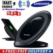 Qi Wireless Fast Charger Charging Pad Stand Dock for Samsung Galaxy S7/S8 Plus