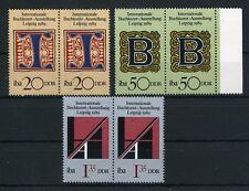 DDR 3425/7 ** - Buchkunst Ausstellung - PAARE