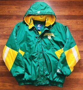 Vintage 90s University Of Oregon Ducks Starter Parka Jacket Mens XXL RARE
