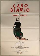 MANIFESTO ORIGINALE 2F  CARO DIARIO NANNI MORETTI VESPA PIAGGIO 1 EDIZIONE 1993