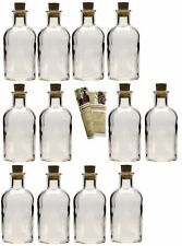 24 x 100 ml Edle leere Glasflaschen Apothekerflasche Likör Flasche 0,1 Liter