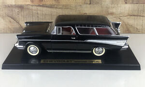 Vintage 1957 Chevy Nomad Display car on stand