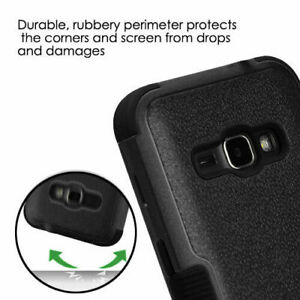 for SAMSUNG GALAXY EXPRESS 3 - Hybrid Shockproof Armor Impact Phone Case Cover