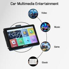 "7"" HD Touch Screen Auto Car Portable GPS Navigator Navigation Free Map US D2G3"