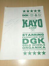 catalog vintage skateboard dgk expedition kayo (w) .D