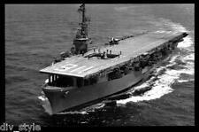 USS Badoeng Strait CVE-116  postcard US Navy ship aircraft carrier
