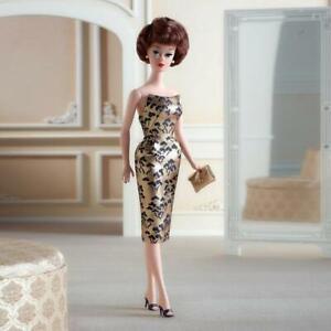 1961 Brownette Bubble Cut Barbie Doll Reproduction 2021 Mattel NRFB GXL25