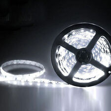 5M 3528 SMD White 300 Led Strip Light Car 12V 16.4ft Lamp Tape Indoor