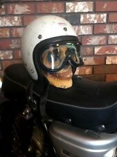 Vintage Motorcycle Goggles Cafe Racer Original 1960's NOS CB350 BUCO CB450 XT500