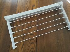 Leifheit Expandable wall mounted clothes drying rack line - white EXCELLENT