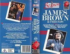 JAMES BROWN & FRIENDS (1987) VHS