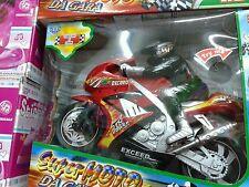 Moto e motociclista gran premio kit gioco di qualità giocattolo toy a35